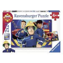 Ravensburger - Sam le Pompier - Puzzle 2 x 24 pièes Sam le pompier
