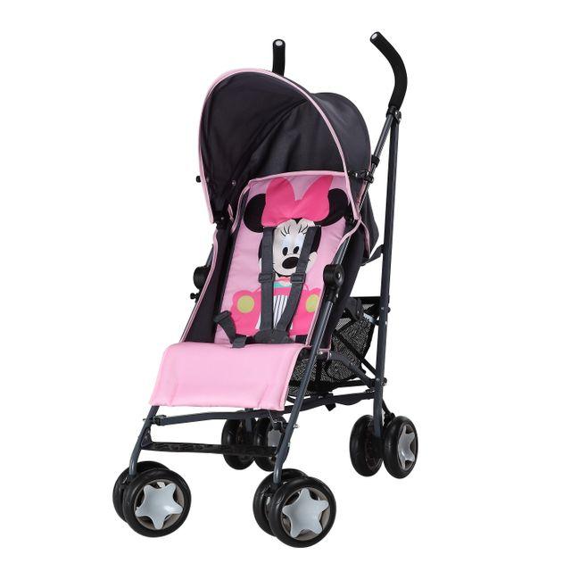 DISNEY BABY - Poussette canne multiposition bébé Minnie - pas cher