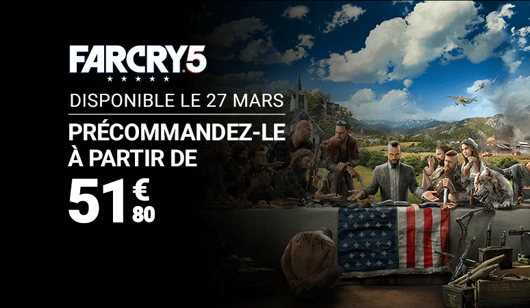 Précommande Far Cry 5