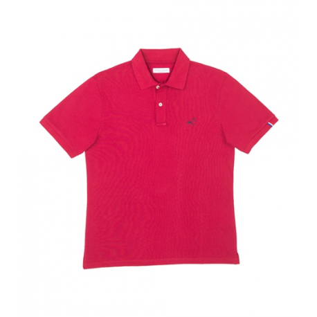 Comptoir Tricolore Polo Le Varenne - Polo homme Rouge -made in France