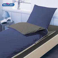 Bleu Calin - Caradou Indigo Graphite de : pret a dormir enfant - 90x190cm