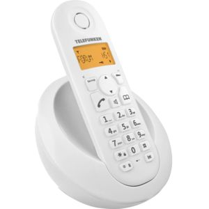telefunken tb 201 blanc pas cher achat vente t l phone fixe sans fil rueducommerce. Black Bedroom Furniture Sets. Home Design Ideas