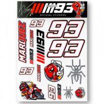Marquez 93 - Sticker Big Multicolor Mm93