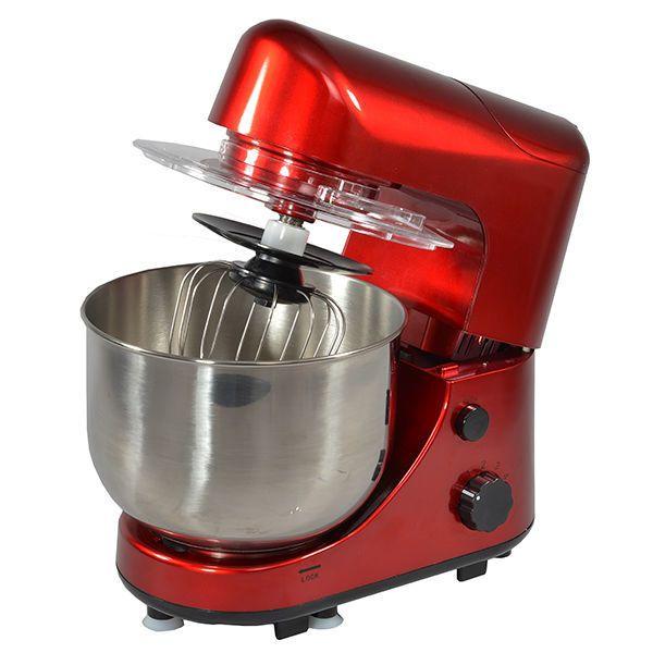 Kitchen Chef - robot multifonctions 4l 600w et blender rouge - sm169br