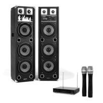 ELECTRONIC STAR - Set Karaoke Star-238A Enceinte micro sans fil 100W Rms / 200W max