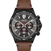 Ferrari Montres - Montre 0830392 - Montre Chronographe Cuir Marron Homme