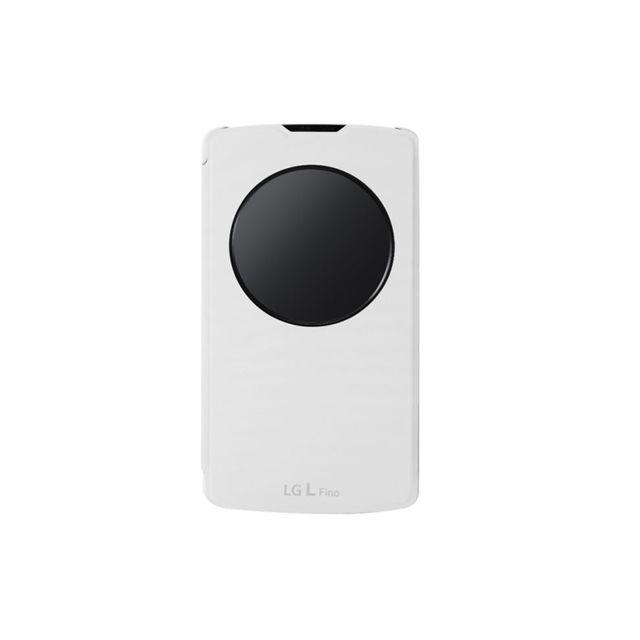LG Quick Circle'' pour L Fino - Blanc