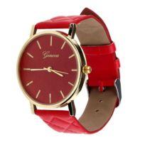 Chic And Watch - Montre femme geneva bracelet simili cuir rose