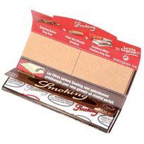 Smoking - Carnet Feuilles+CARTONS Brown King Size 33F/CARNET