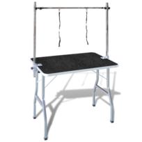 Vidaxl - Table Toilettage Ajustable pour Chiens avec 2 Potences