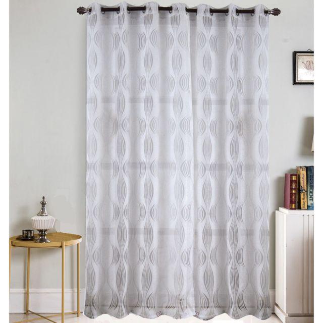 best interior voilage grande largeur hypnose blanc. Black Bedroom Furniture Sets. Home Design Ideas
