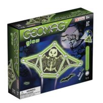 Geomag - 1331 - Panel - Scary Glow - Coffret Fluorescent - 37 PiÈCES