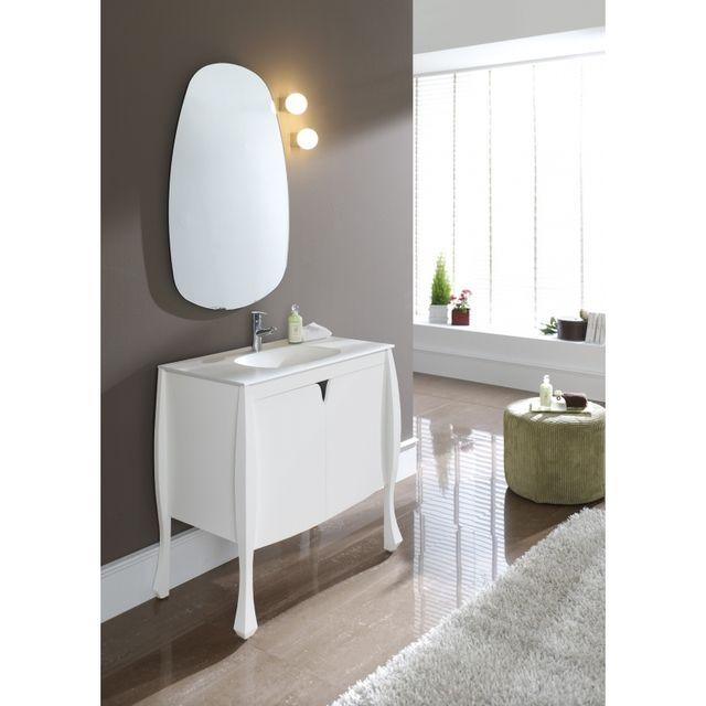 planetebain soldes meuble de salle de bain design original blanc blanc planete bain pas cher. Black Bedroom Furniture Sets. Home Design Ideas
