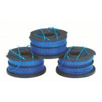 Black & Decker - Lot de 3 Bobines Fil Reflex 2 x 6 m - 1.5 mm - A6441X3