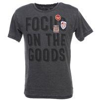 Kaporal 5 - Tee shirt manches courtes Nuro black mc tee jr Noir 59563