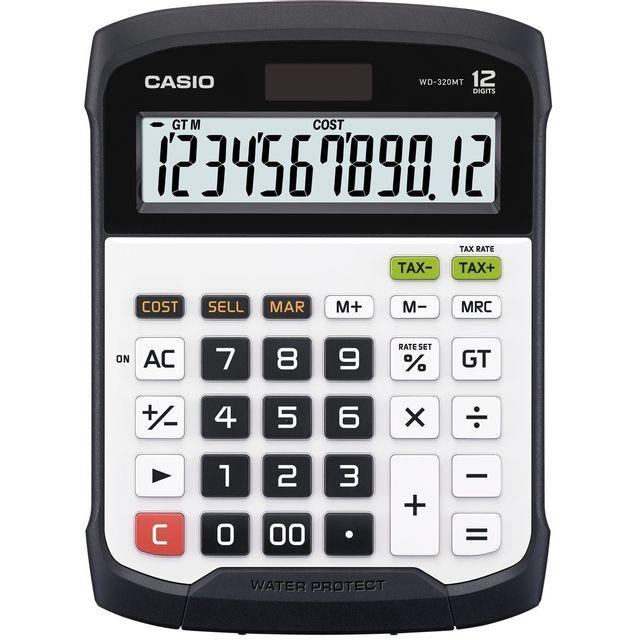 CASIO Calculatrice de poche WD-320MT