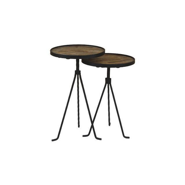 Tables gigognes rondes 38 cm - Alen