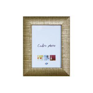 Ariane   Cadre Photo En Bois 50x70cm Baguette Renversée Cannelée Or  Multicolore   0cm X 0cm