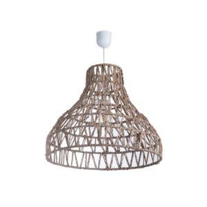 Lussiol - Suspension conique en rotin natuel diamètre 49cm Satna
