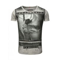 Trueprodigy - Tee shirt Gris 126 Gris