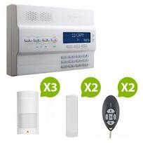 Paradox - Mg-6250 - Alarme maison sans fil Rtc+GSM - Kit 4