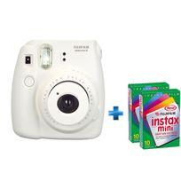 FUJI - Pack Instax mini 8 blanc + film