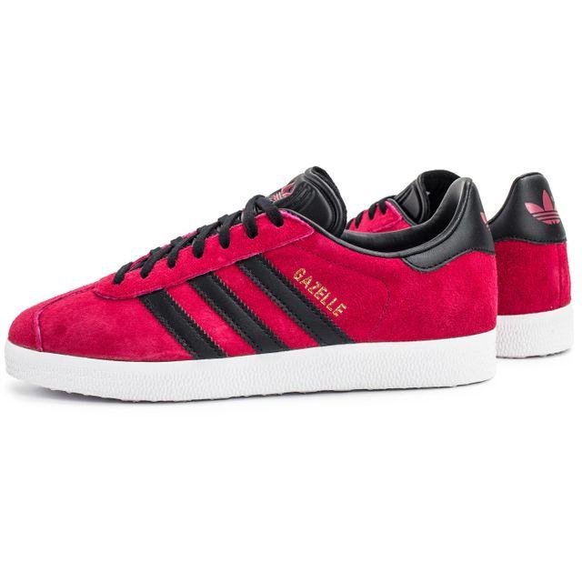 adidas gazelle noire rose