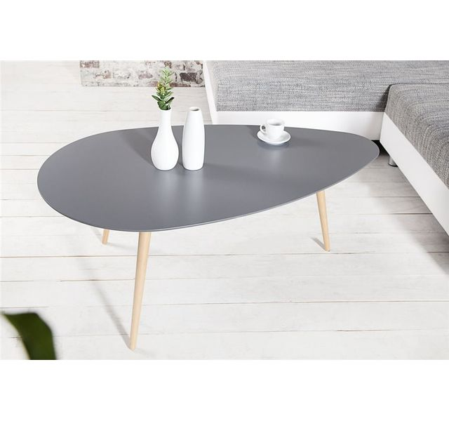 CHLOE DESIGN Table basse scandinave SCANIVA - graphite - 115