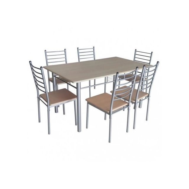 Price Et EllaModerne Table 6 Factory Ensemble Chaises rdxBoCe