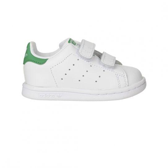 free shipping 5191f 3656c Adidas originals - Chaussures Stan Smith Bebe BlancVert h16 - pas cher  Achat  Vente Baskets enfant - RueDuCommerce