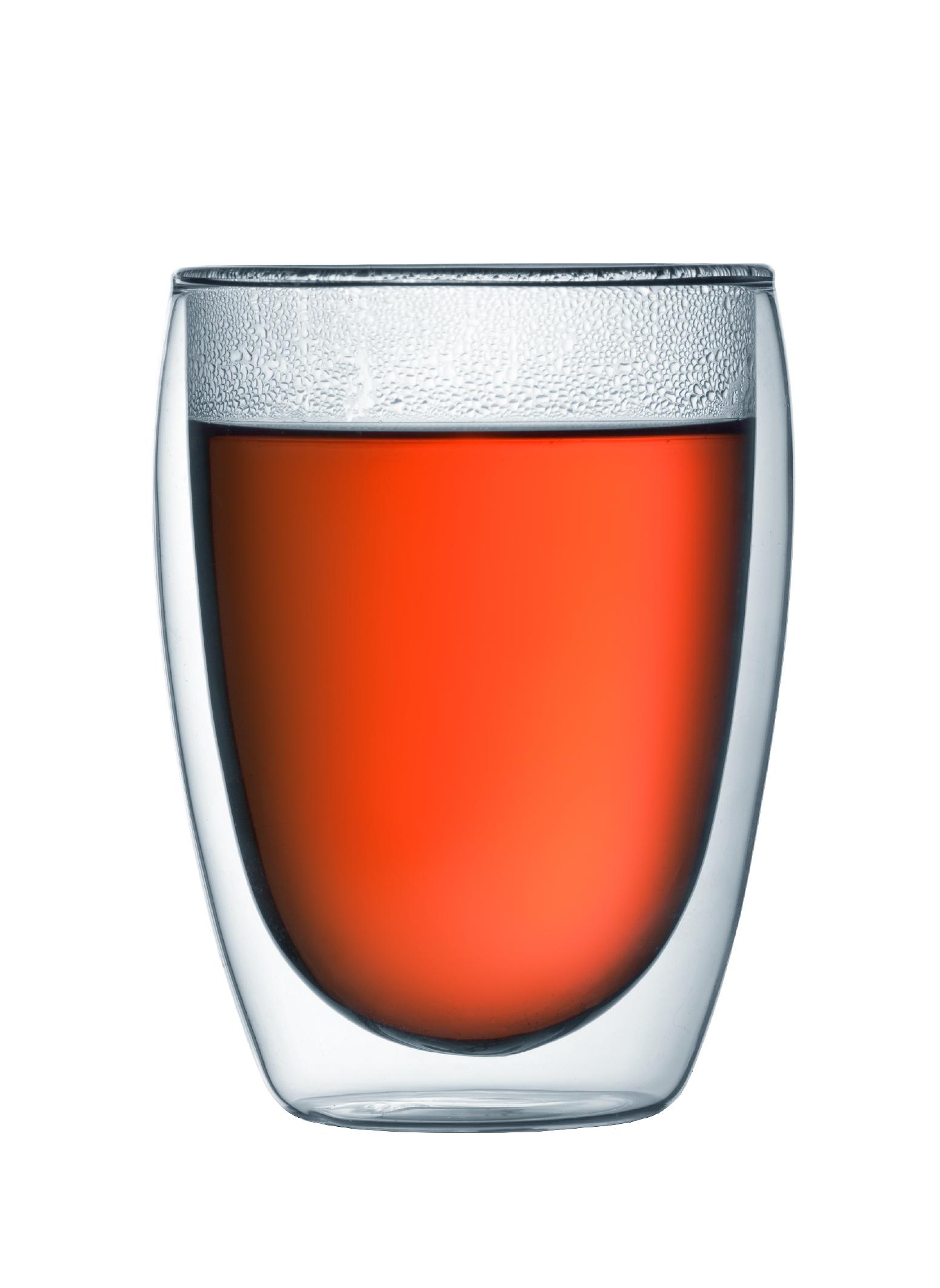 PAVINA Set 2 verres, double paroi, 0.35 l