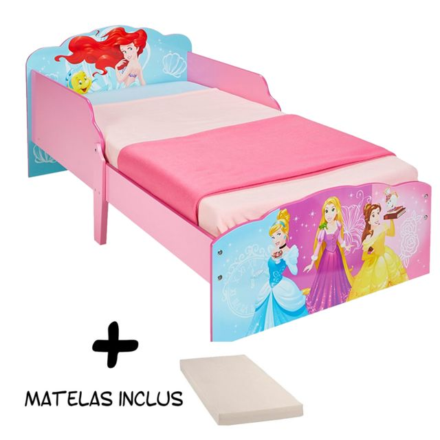 Bebe Gavroche Lit Disney Princesse Rêve + Matelas
