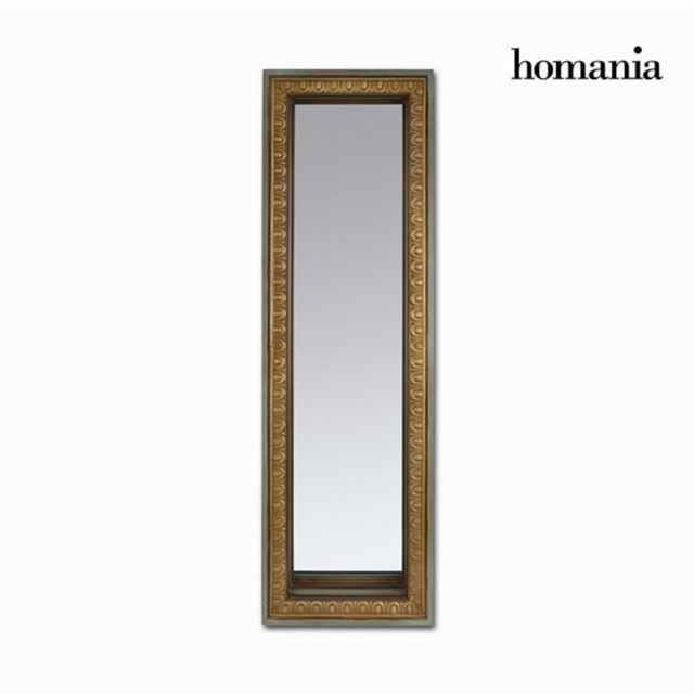 Homania Miroir rectangulqire or mat vieilli by