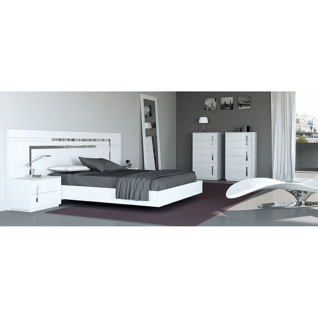 CUBISL Chambre complète 1001003/140 - VERANO pour couchage 140x190CM