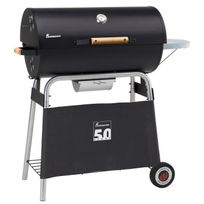 Landmann - Barbecue a charbon Black Taurus 660 Expert - Fonte émaillée