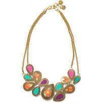 Desigual Bijoux - Collier et pendentif Kaitlin 72G9ED3-3001 - Collier et pendentif Multiples Ovales Femme