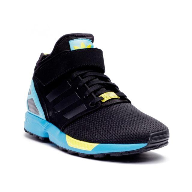 Adidas Basket Zx Flux Nps Mid Noir pas cher Achat