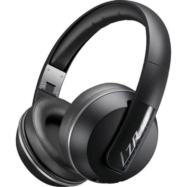 MAGNAT Casque arceau LZR-588 Bluetooth Noir et gris - 180380