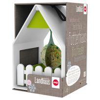 Emsa - Mangeoire Landhaus pour Oiseaux Blanc et Vert