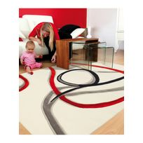 ARTE ESPINA - Tapis de Salon Moderne Design RED TRACE