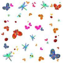Jomoval - Roommates Stickers Muraux Repositionnables Enfant Papillons Et Insectes