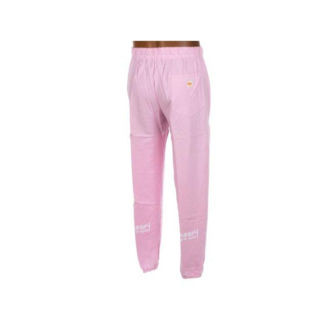 Panzeri - Pantalon de survêtement Uni h rose jersey pant Rose 30922