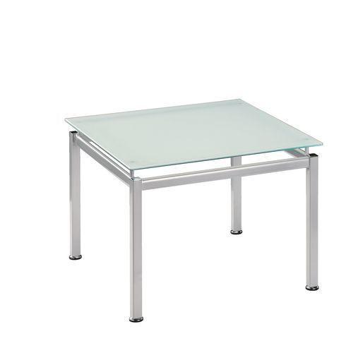 Sokoa Table basse plateau verre incassable