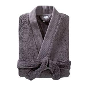 soldes tex home peignoir eponge bio col kimono pas. Black Bedroom Furniture Sets. Home Design Ideas
