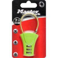 Master Lock - Cadenas Abs a combinaison câble Coul