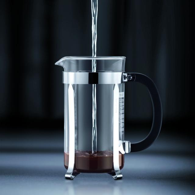 BODUM - CHAMBORD Cafetière à piston, 8 tasses, 1.0 l