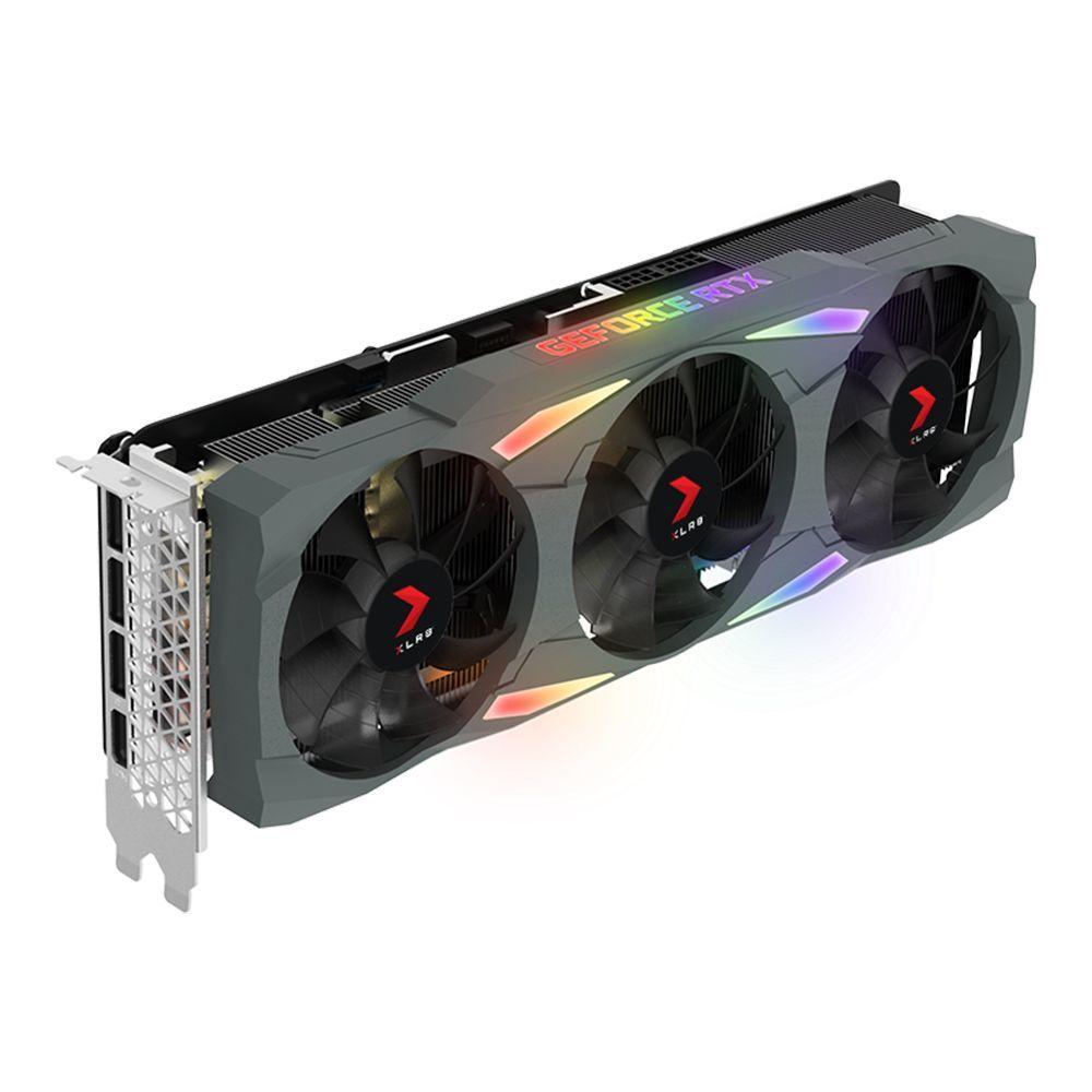 Carte graphique GeForce RTX 3090 XLR8 Gaming EPIC-X RGB 24 GB PNY