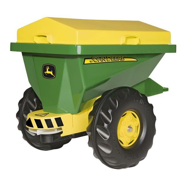 Rolly Toys 125111 RollyStreumax Trailer - Épandeur John Deere pour tracteurs