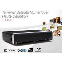 Thomson - Fransat Terminal Numérique satelitte Hd + Déport Ir Ths805