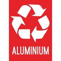 Editions Uttscheid - Recyclage Aluminium - Autocollant vinyl waterproof - L.210 x H.297 mm